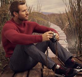 Удобството и комфорта не изключват стила в лицето на мъжките пуловери