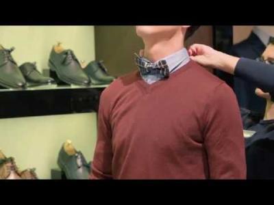 Как се слага папийонка — TEODOR